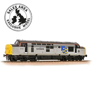 Bachmann 32-778RJSF Class 37/0 37275 Stainless Pioneer BR Railfreight Metals SOUND FITTED