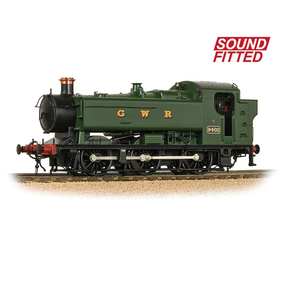 Bachmann 35-025SF GWR 94XX Pannier Tank 9402 GWR Green (GWR) SOUND FITTED