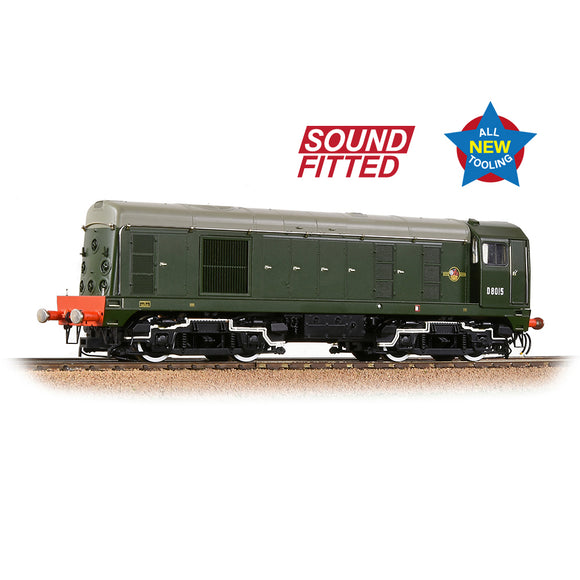 PRE-ORDER Bachmann 35-351SF Class 20/0 Disc Headcode D8015 BR Green (Late Crest) SOUND FITTED NEW TOOLING