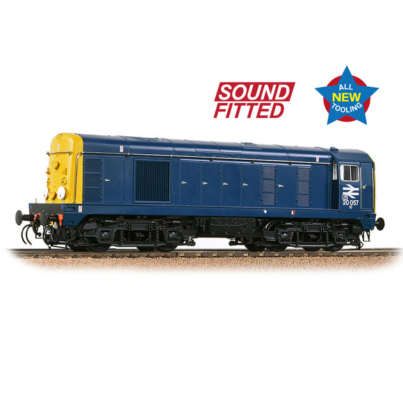 PRE-ORDER Bachmann 35-255SF Class 20/0 Disc Headcode 20057 BR Blue SOUND FITTED NEW TOOLING