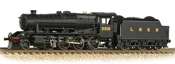 Graham Farish N Gauge 372-160 LNER O6 3518 LNER Black (LNER Revised)