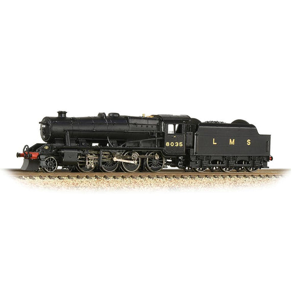 Graham Farish N Gauge LMS Stanier 8F 8035 LMS Black (Revised)