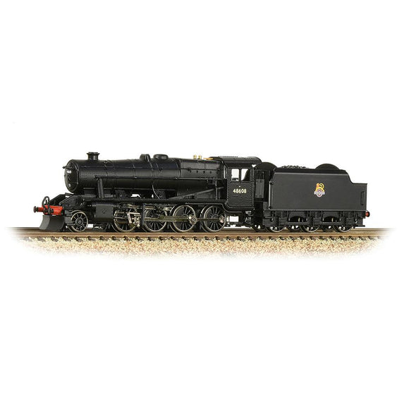 Graham Farish N Gauge LMS Stanier 8F 48608 BR Black (Early Emblem)