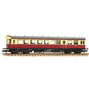 Graham Farish 374-610 GWR Hawksworth Auto-Trailer BR Crimson & Cream