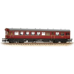 Graham Farish 374-611 GWR Hawksworth Auto-Trailer BR Maroon