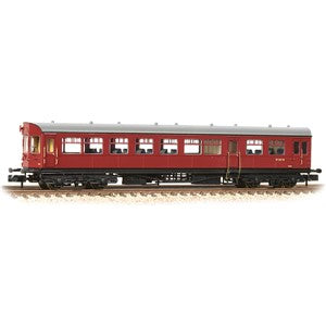 Graham Farish 374-612 GWR Hawksworth Auto-Trailer BR Crimson