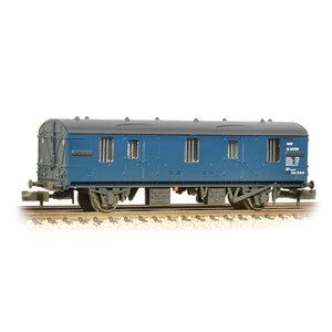 Graham Farish 374-640 BR Mk1 CCT Covered Carriage Truck BR Blue Weathered