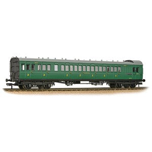 Bachmann 39-603 SE&CR 60ft Birdcage Brake Third Lavatory SR Malachite Green