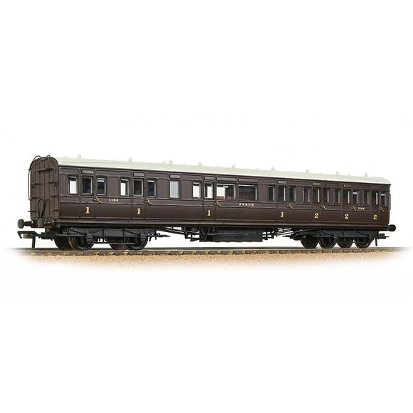 Bachmann 39-614 SE&CR 60ft Birdcage Composite Lavatory SE&CR Wellington Brown