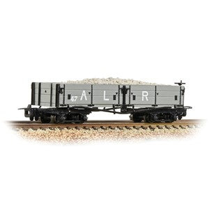 Bachmann 393-052a Open Bogie Wagon Ashover L. R. Grey with load