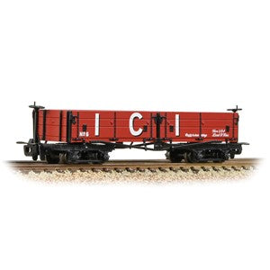 Bachmann 393-056 Open Bogie Wagon 'ICI' Red