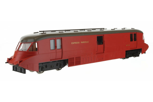 Dapol 4D-011-101 Streamlined Parcels Railcar W17W in BR crimson with Express Parcels branding