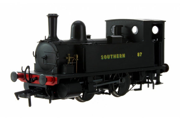 Dapol 4S-018-009 Ex-LSWR B4 0-4-0T No.87 Southern Wartime Black OO Gauge
