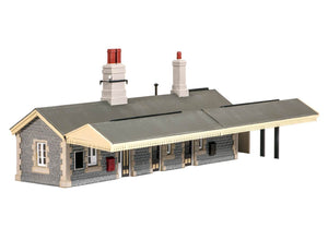 Ratio 504 GWR Station Building OO Scale Plastic Kit