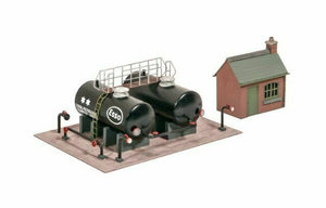 Ratio 529 Oil Depot OO Scale Plastic Kit