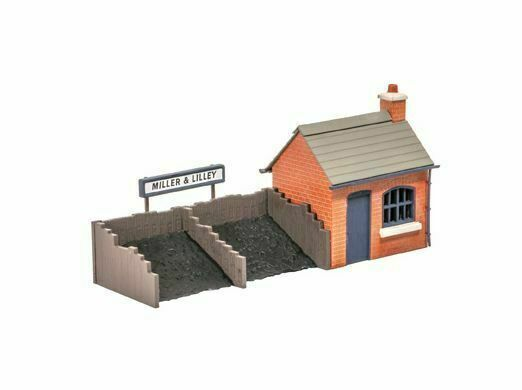 Ratio 532 Coal Depot OO Scale Plastic Kit