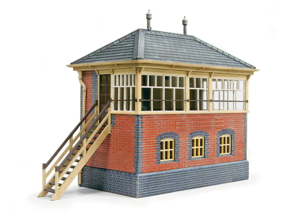Ratio 552 GWR Brick Signal Box OO Scale Plastic Kit