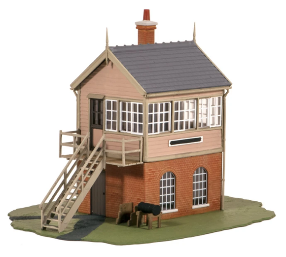 Ratio 500 GWR Signal Box OO Scale Plastic Kit