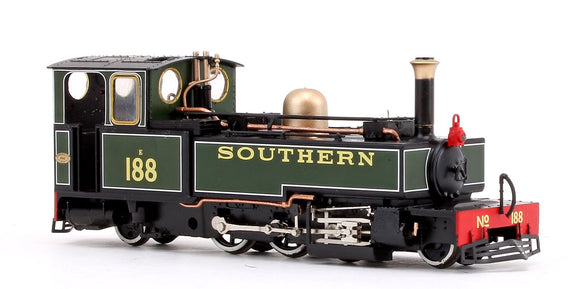 Heljan 9960 OO9 Manning Wardle 2-6-2T No.188 Lew Southern Olive Green
