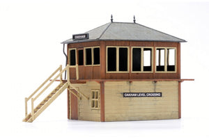 Dapol C006 Signal Box OO Scale Plastic Kit