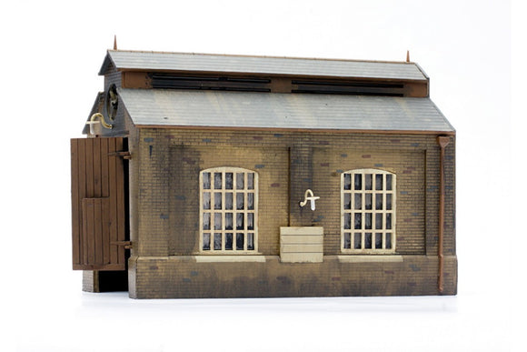 Dapol C007 Engine Shed OO Scale Plastic Kit