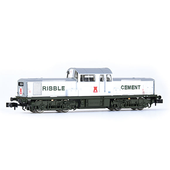 EFE E84507 Class 17 Ribble Cement White & Green N Gauge