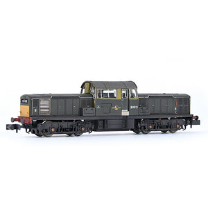 EFE Rail E84508 Class 17 D8511 BR Green (Small Yellow Panels) Weathered N Gauge