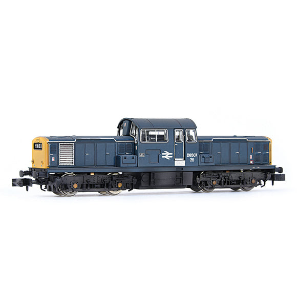 EFE Rail E84511 Class 17 D8507 BR Blue Weathered N Gauge
