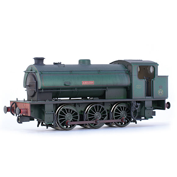 EFE Rail E85004 Hunslet Austerity (J94) Saddle Tank 'Amazon' National Coal Board Green Weathered