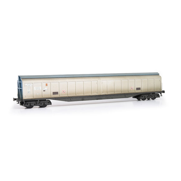 EFE Rail E87009 Cargowaggon 279-7-604-6 Silver & Blue Unbranded Weathered