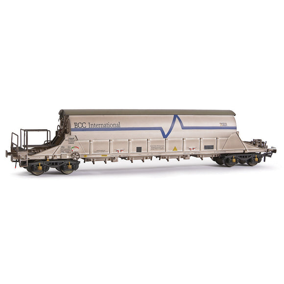 EFE Rail E87015  PBA Tiger Wagon TRL 11612 ECC International White Weathered