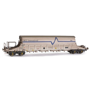 EFE Rail E87017 PBA Tiger Wagon TRL 11620 ECC International White Weathered