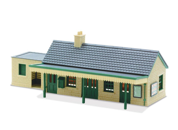 PECO LK-13 Country Station (Stone) OO Scale Plastic Kit