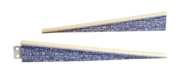 PECO LK-67 Platform Edging Ramps (Stone) OO Scale Plastic Kit