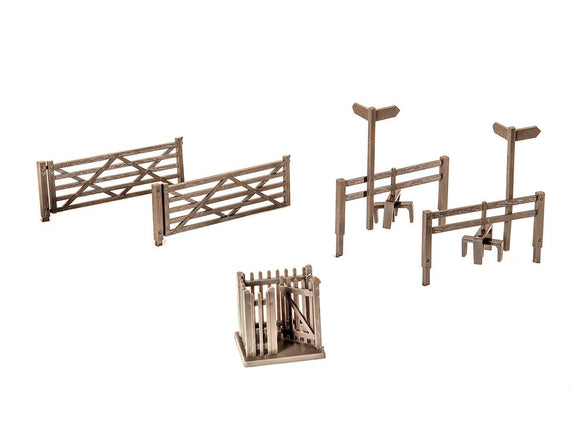 PECO LK-86 Field Gates, Styles & Wicket Gates OO Scale Plastic Kit