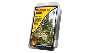 Woodland Scenics LK956 Scenery Details Learning Kit