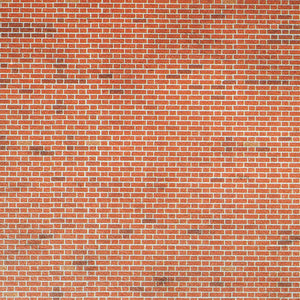 METCALFE M0054 00/H0 SCALE RED BRICK SHEETS