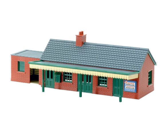 PECO NB-12 Station Building (Brick) N Scale Plastic Kit