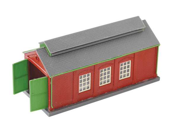 PECO NB-5 Engine Shed (Brick Type) N Scale Plastic Kit