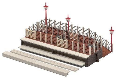 Ratio 202 Cattle Dock N Scale Plastic Kit