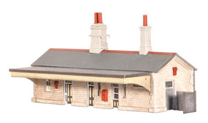 Ratio 204 Station Building N Scale Plastic Kit