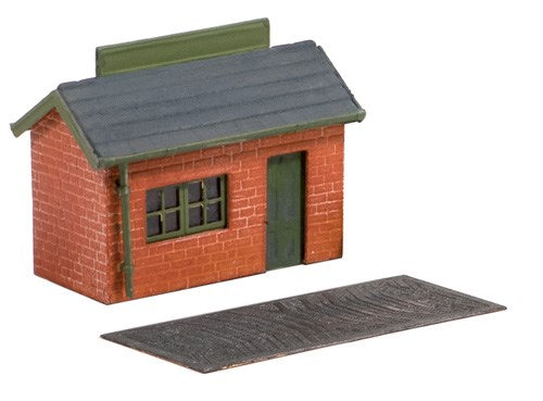 Ratio 227 Weighbridge Hut N Scale Plastic Kit