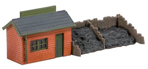 Ratio Kit 229 Coal Depot N Scale Plastic Kit
