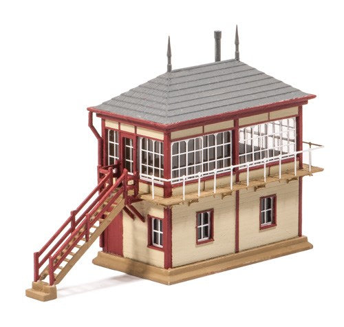 Ratio 236 Midland Signal Box N Scale Plastic Kit