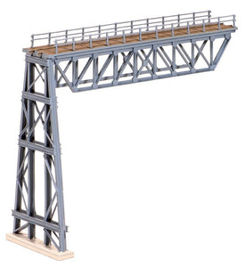 Ratio 241 Steel Truss Span with Steel Trestle N Scale Plastic Kit