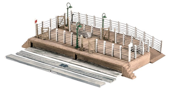 Ratio 502 Cattle Dock OO Scale Plastic Kit