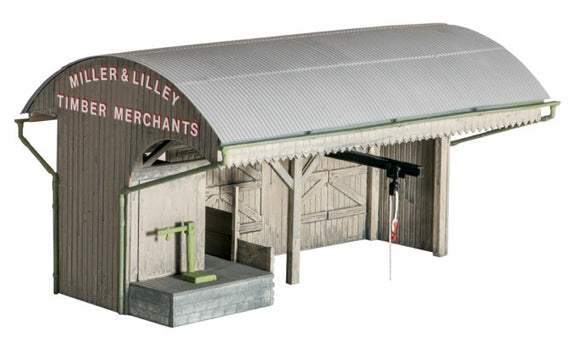 Ratio 525 Coal/Timber Merchants OO Scale Plastic Kit