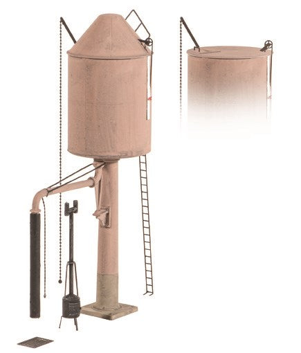 Ratio 528 Water Tower GWR Pillar OO Scale Plastic Kit