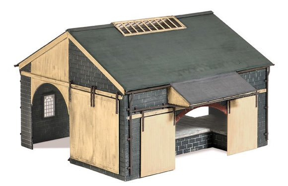 Ratio 534 Stone Goods Shed OO Scale Plastic Kit