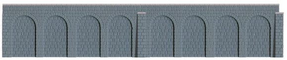 Ratio 537 Retaining Walls OO Scale Plastic Kits